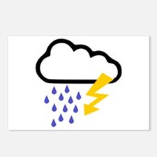 Thunderstorm - Weather Postcards (Package of 8)