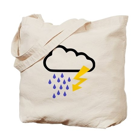 Thunderstorm - Weather Tote Bag