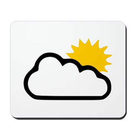 Sun - Sunny Mousepad