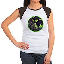 Dark Aliens Women's Cap Sleeve T-Shirt