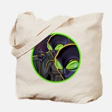 Dark Aliens Tote Bag