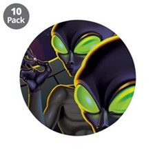 """Dark Aliens 3.5"""" Button (10 pack)"""