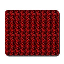 Black and Red Mousepad