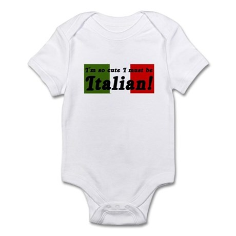 Cute Italian Infant Bodysuit