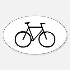 Bike Oval Decal