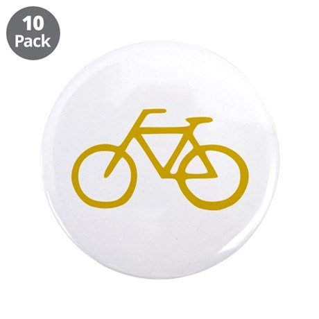 "Bike 3.5"" Button (10 pack)"