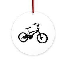 BMX - Bike Ornament (Round)