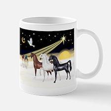 XmsDove/3 Horses (Ar) Mug