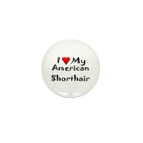 American Curl Mini Button