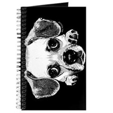 Black & Black Puggle Journal