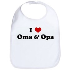 I Love Oma & Opa Bib