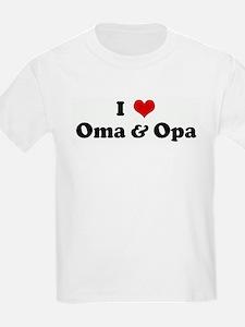 I Love Oma & Opa T-Shirt