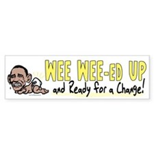 Wee Wee-ed Up Bumper Bumper Sticker