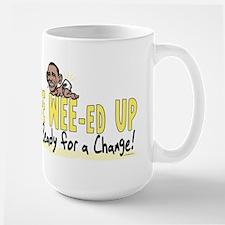 Wee Wee-ed Up Large Mug