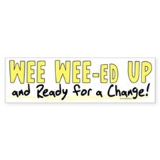 Wee Wee-ed Up 2 Bumper Bumper Sticker