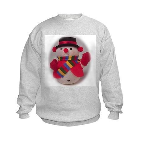 Snowman holiday Kids Sweatshirt