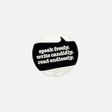 """Speak Freely"" Mini Button (10 pack)"