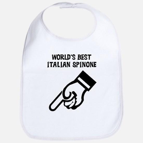 World's Best Italian Spinone Bib