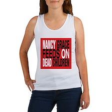 Nancy Grace Feeds on Dead Chi Women's Tank Top