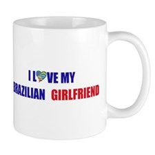 I Love My Brazilian Girlfrien Mug