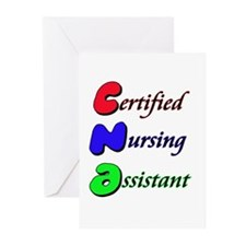 Funny Nursing assistants Greeting Cards (Pk of 20)