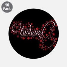 "Pink Sparkly TwiHard 3.5"" Button (10 pack)"
