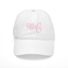 Pink Sparkly TwiHard Baseball Cap