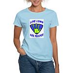 Live Long And Prosper Women's Light T-Shirt