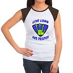 Live Long And Prosper Women's Cap Sleeve T-Shirt