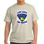 Live Long And Prosper Light T-Shirt