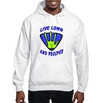 Live Long And Prosper Hooded Sweatshirt
