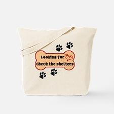 Cute Adopt a pit bull Tote Bag