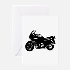 Motorbike Greeting Card
