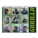 Gorilla Wall Calendars