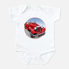 The Avenue Art Red TD Infant Bodysuit