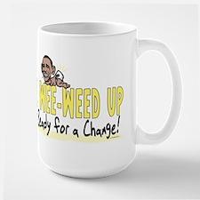 Wee-Weed Up Obama Large Mug