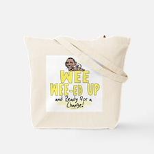 Wee-Weed Up Obama Tote Bag