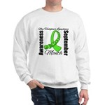 Non Hodgkins Month Gem Sweatshirt
