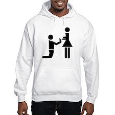 Wedding Proposal Jumper Hoody