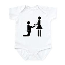 Wedding Proposal Infant Bodysuit