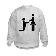 Wedding Proposal Sweatshirt