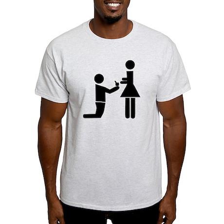 Wedding Proposal Light T-Shirt