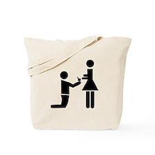 Wedding Proposal Tote Bag