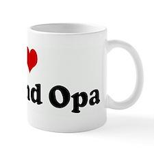 I Love Oma and Opa Mug