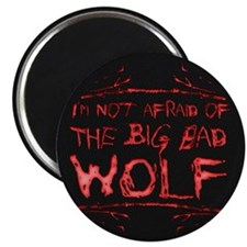 Big Bad Wolf Magnet