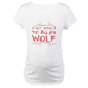 Big Bad Wolf Maternity T-Shirt