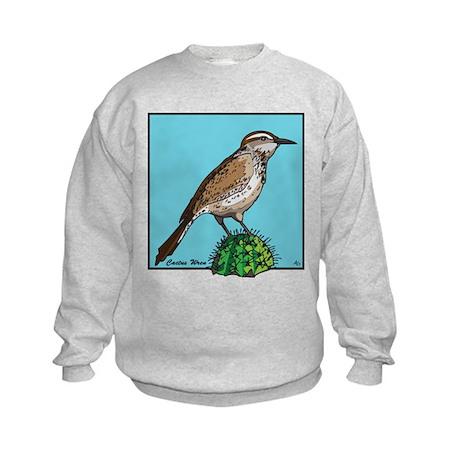 CACTUS WREN Kids Sweatshirt