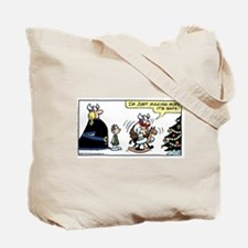 Cute Kingfeatures Tote Bag