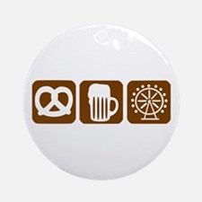 Oktoberfest - Munich Ornament (Round)