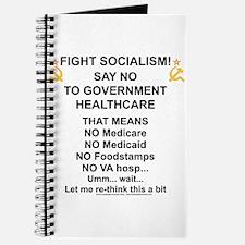 Socialism? Ok, I'll suffer. Journal